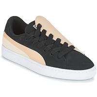 Schuhe Damen Sneaker Low Puma WN BASKET CRUSH PARIS.SILV Schwarz