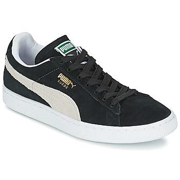 Scarpe Sneakers basse Puma SUEDE CLASSIC Nero / Bianco