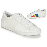 Schuhe Damen Sneaker Low Le Coq Sportif FLAG Weiß / Bunt