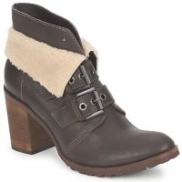 Schuhe Damen Low Boots Un Matin d'Eté BRIAC Braun,