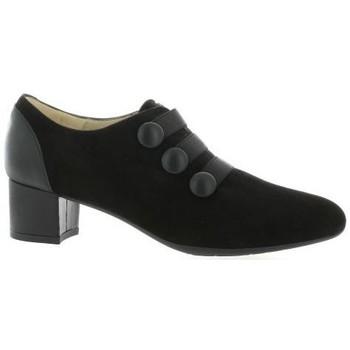 Chaussures Femme Escarpins Brenda Zaro Escarpins cuir velours Noir
