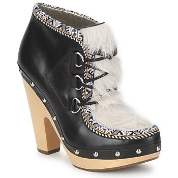 Schuhe Damen Ankle Boots Belle by Sigerson Morrison BLACKA Beige / Schwarz