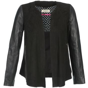 Vêtements Femme Vestes en cuir / synthétiques Naf Naf COCOTTE Noir