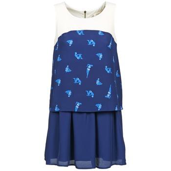 Kleidung Damen Kurze Kleider Naf Naf LIBAIN Marineblau