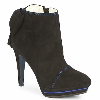Schuhe Damen Ankle Boots Tiggers MEDRAM Schwarz