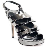 Schuhe Damen Sandalen / Sandaletten Jerome C. Rousseau QUORRA Silbrig