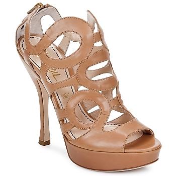 Chaussures Femme Sandales et Nu-pieds Jerome C. Rousseau ISY CAMEL