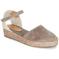 Chaussures Femme Sandales et Nu-pieds Betty London ANTALA Gris