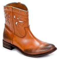 Schuhe Damen Boots Strategia PONCHO Braun