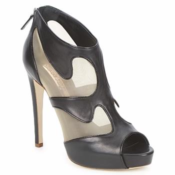 Schuhe Damen Ankle Boots Rupert Sanderson ORBIT Schwarz / Beige