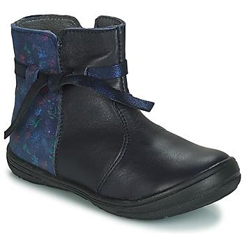 Schuhe Mädchen Boots André FLOTTE Marineblau