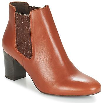 Chaussures Femme Boots André FONDANT CAMEL