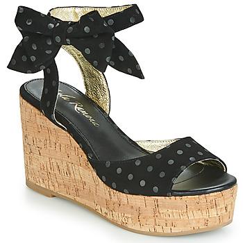 Schuhe Damen Sandalen / Sandaletten Lola Ramona NINA Schwarz