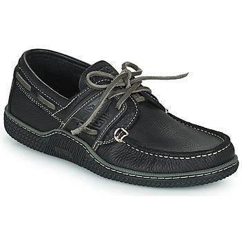 Schuhe Herren Bootsschuhe TBS GLOBEK Schwarz