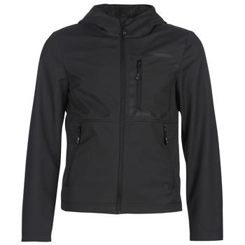 Kleidung Herren Jacken Geox TIRPIRUTE Schwarz