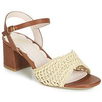 Chaussures Femme Sandales et Nu-pieds Miss L'Fire MIRO Marron