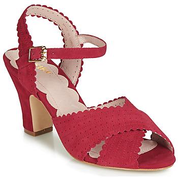 Chaussures Femme Sandales et Nu-pieds Miss L'Fire BEATRIZ Rouge