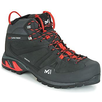 Chaussures Homme Baskets montantes Millet SUPER TRIDENT GTX Noir / Rouge