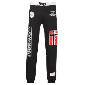Vêtements Homme Pantalons de survêtement Geographical Norway MYER Noir
