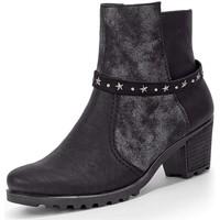 Chaussures Femme Boots Rieker y8077 noir