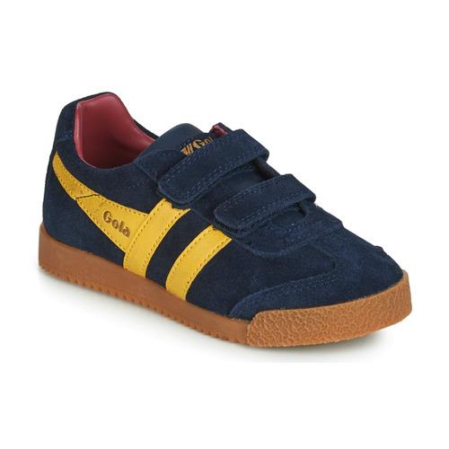 Chaussures Enfant Baskets basses Gola HARRIER VELCRO Bleu
