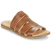 Schuhe Damen Pantoffel El Naturalista TULIP Braun