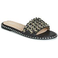 Schuhe Damen Pantoffel Cassis Côte d'Azur ALVINA Schwarz