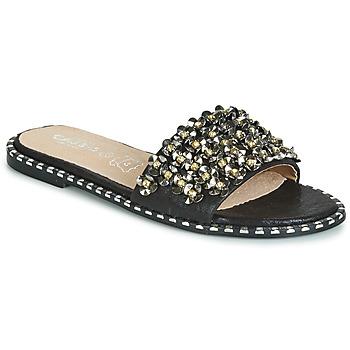 Chaussures Femme Mules Cassis Côte d'Azur ALVINA Noir