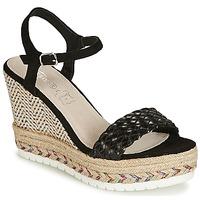 Schuhe Damen Sandalen / Sandaletten Cassis Côte d'Azur CASSANDRA Schwarz