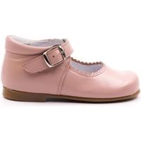 Chaussures Fille Ballerines / babies Boni & Sidonie Babies haute en cuir à boucle - NEW ISABELLE Rose