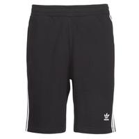Vêtements Homme Shorts / Bermudas adidas Originals 3 STRIPE SHORT Noir