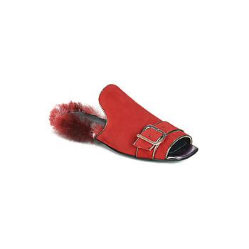 Scarpe Donna Ciabatte Papucei OBSENTUM Rosso