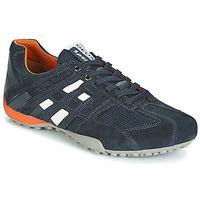 Schuhe Herren Sneaker Low Geox UOMO SNAKE Marineblau