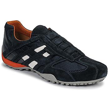 Scarpe Uomo Sneakers basse Geox UOMO SNAKE Blu / Nero