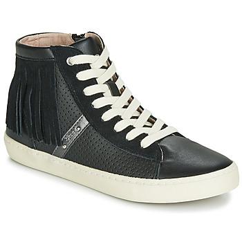 Scarpe Bambina Sneakers alte Geox J KILWI GIRL Nero