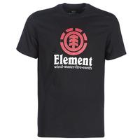 Abbigliamento Uomo T-shirt maniche corte Element VERTICAL SS Nero