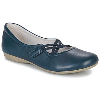 Schuhe Damen Ballerinas Josef Seibel FIONA 39 Blau