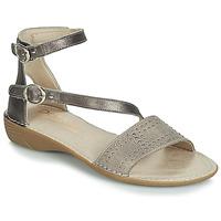 Chaussures Femme Sandales et Nu-pieds Dorking 7863 Gris