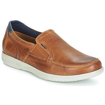 Schuhe Herren Slip on Fluchos SUMATRA Marine