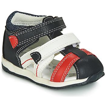 Chaussures Garçon Sandales et Nu-pieds Chicco GABRIEL Bleu / Blanc / Rouge