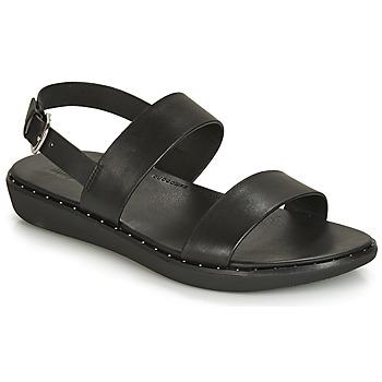 Schuhe Damen Sandalen / Sandaletten FitFlop BARRA Schwarz