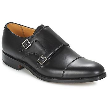 Schuhe Herren Richelieu Barker TUNSTALL Schwarz