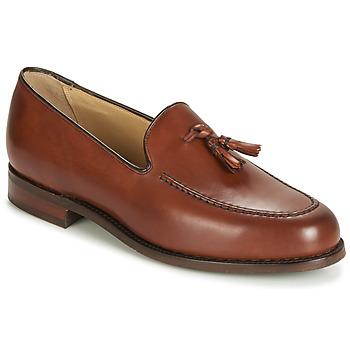 Schuhe Herren Slipper Barker STUDLAND Braun