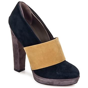 Schuhe Damen Pumps Kallisté BOTTINE 5854 Rosa / goldfarben / beige