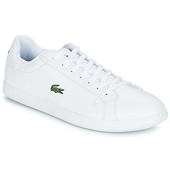 Chaussures Homme Baskets basses Lacoste GRADUATE BL 1 Blanc