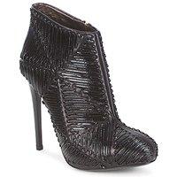 Schuhe Damen Low Boots Roberto Cavalli QPS566-PN018 Schwarz