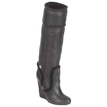 Schuhe Damen Klassische Stiefel Roberto Cavalli QDS598-PJ007 Schwarz