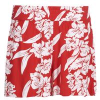 Kleidung Damen Shorts / Bermudas Volcom ALOHA HA SHORT Rot