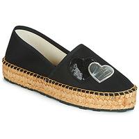 Chaussures Femme Espadrilles Love Moschino JA10243G07 Noir