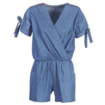 Kleidung Damen Overalls / Latzhosen Molly Bracken MOLLIOTETTE Blau